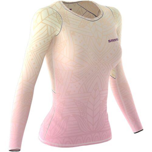 SMMASH Muerte Damen Langarm Top Longsleeve Damen Atmungsaktiv und Leicht Compression Shirt Funktionsshirt f/ür Crossfit Hergestellt in der EU Sport Langarmshirt Yoga Gym Top Fitness
